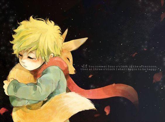 маленький принц лис
