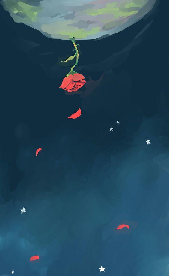 цитаты из маленького принца цветы